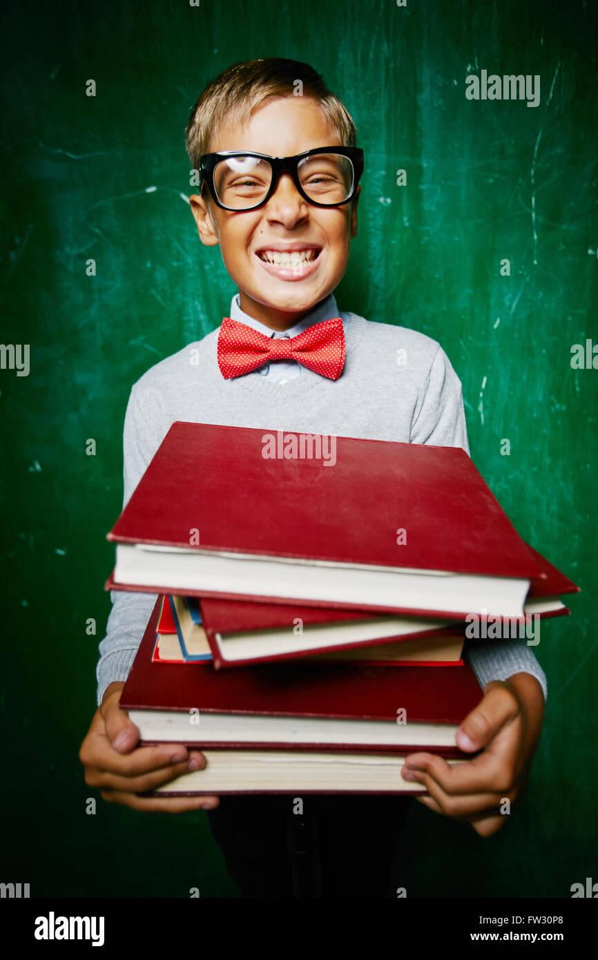 Schoolboy - Stock Image