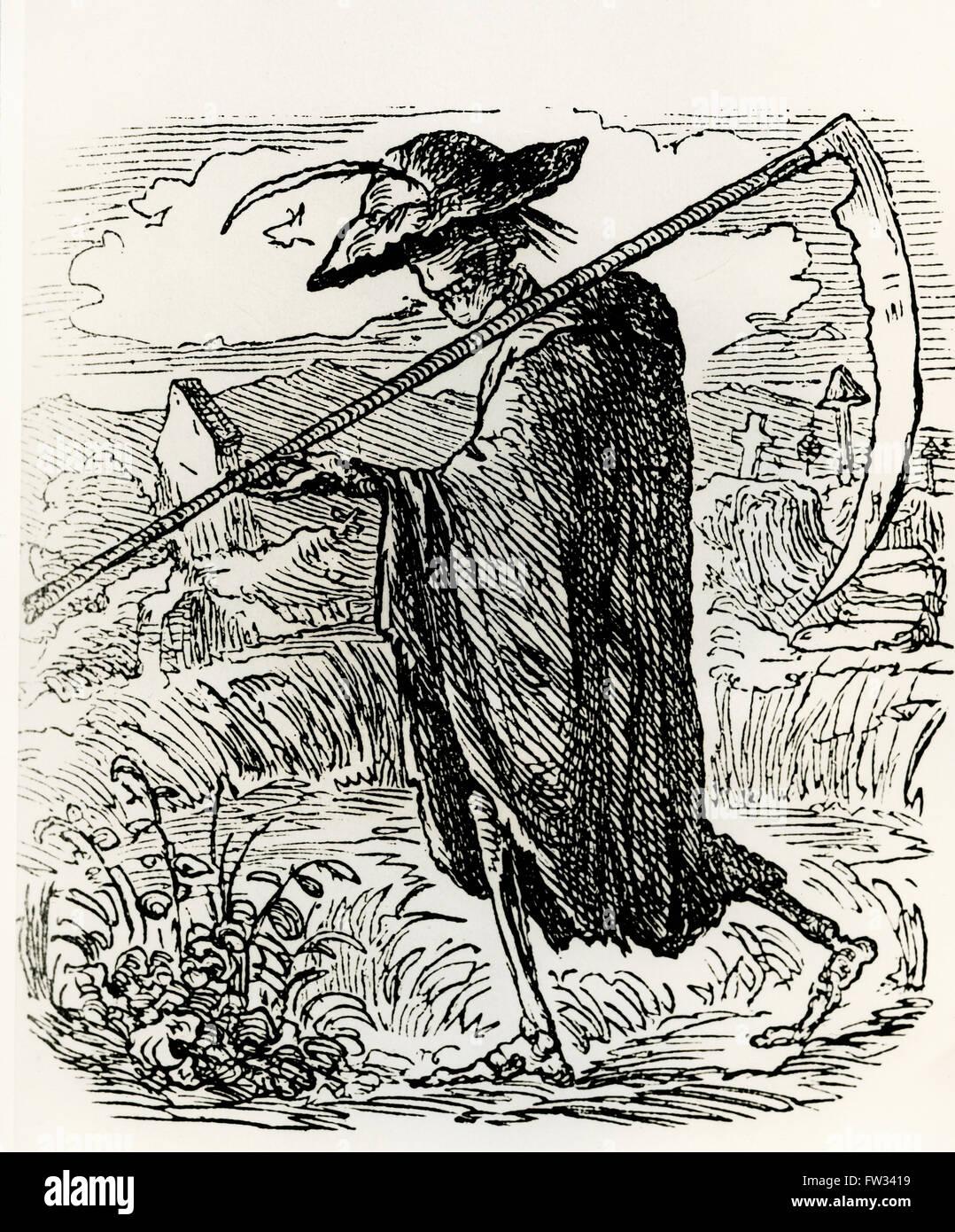 Grim Reaper Drawing Stock Photos Grim Reaper Drawing Stock Images