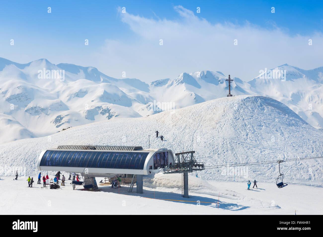 Vogel, Alps, Slovenia, Europe. - Stock Image