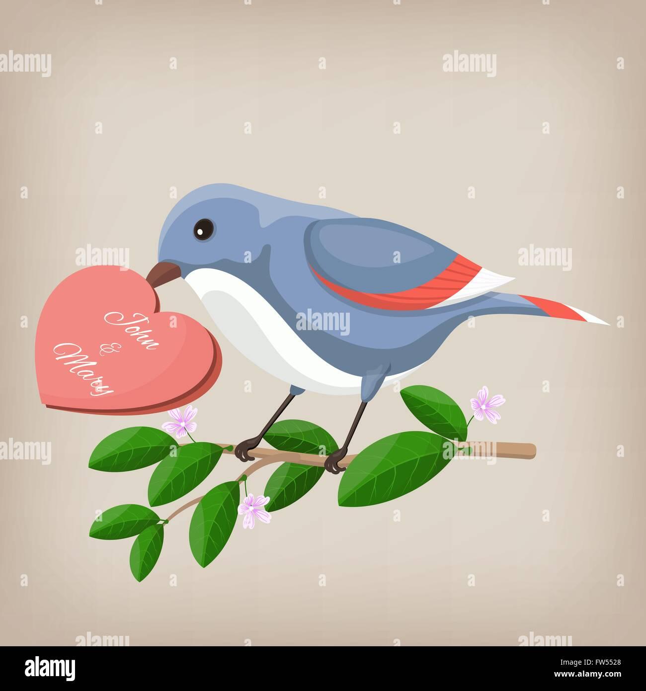 Bird Greeting Card Stock Photos Bird Greeting Card Stock Images