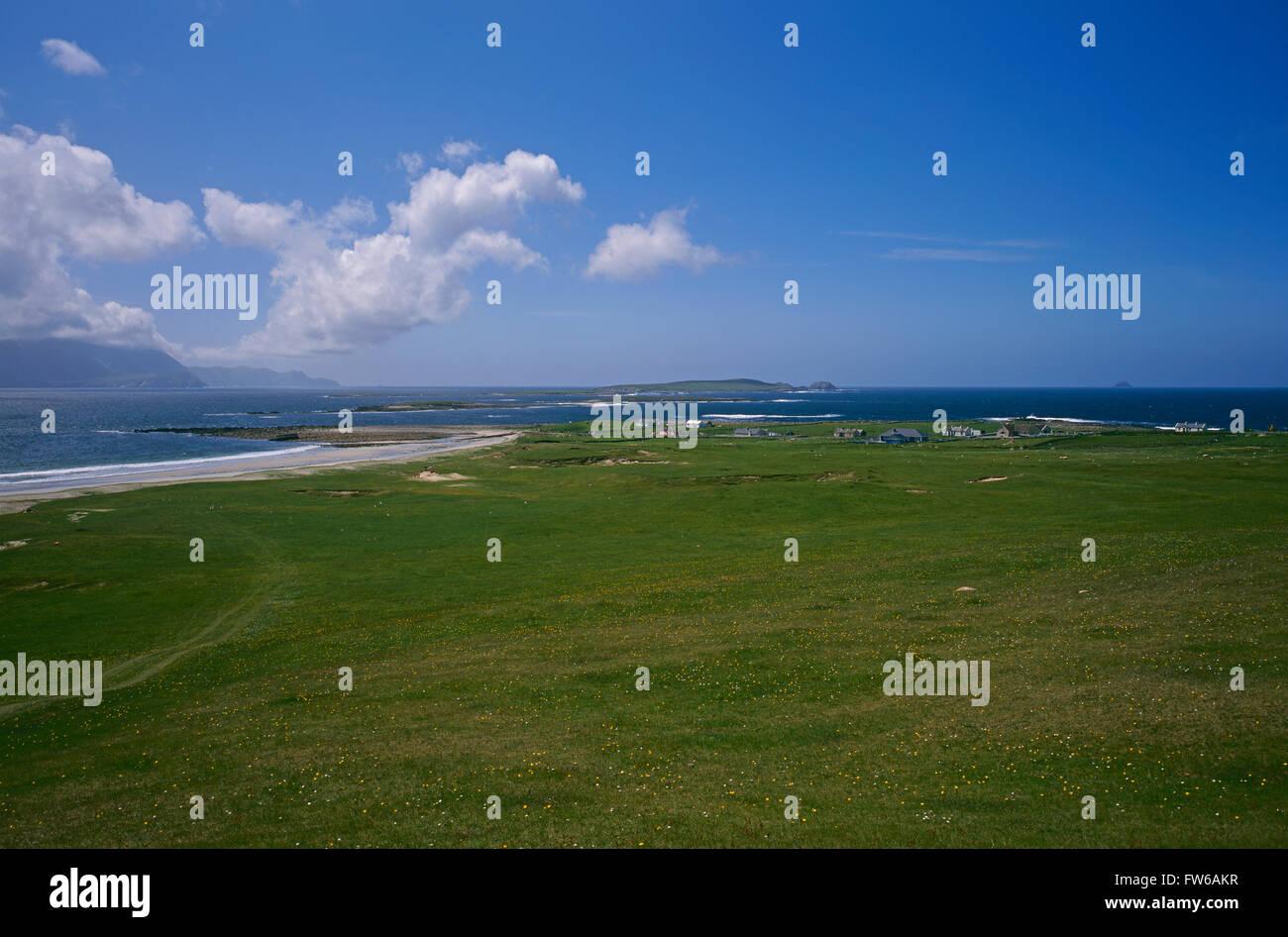 Achill Island from Belmullet Peninsula, County Mayo, Ireland - Stock Image