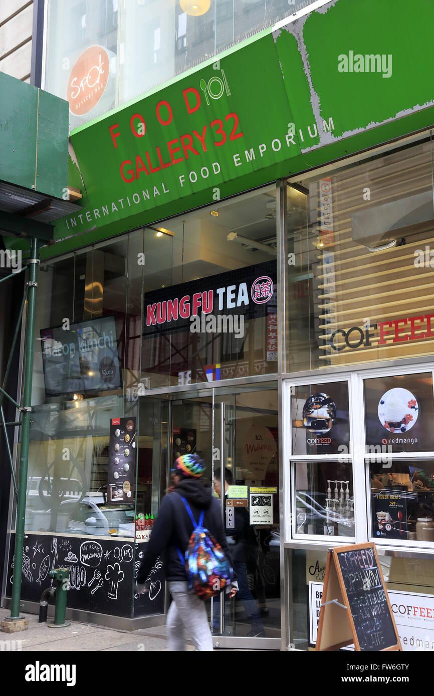 Korea Town New York Stock Photos & Korea Town New York Stock