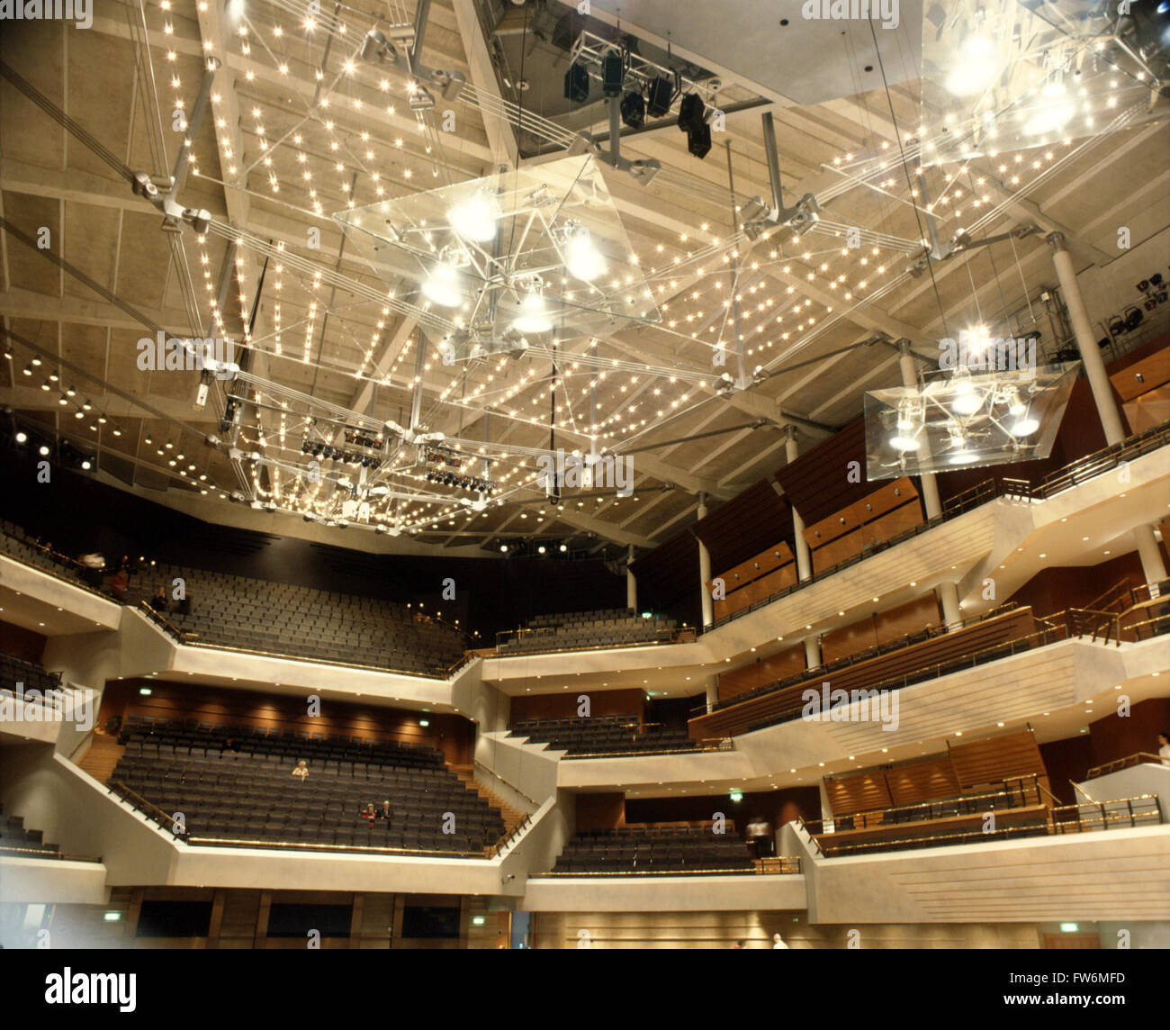 Commercial Lighting Manchester: Bridgewater Hall Manchester Stock Photos & Bridgewater