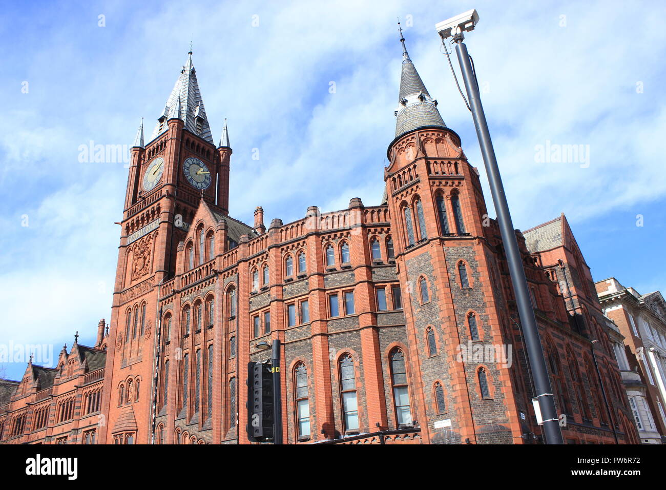 University of Liverpool Victoria Gallery and Museum - Stock Image