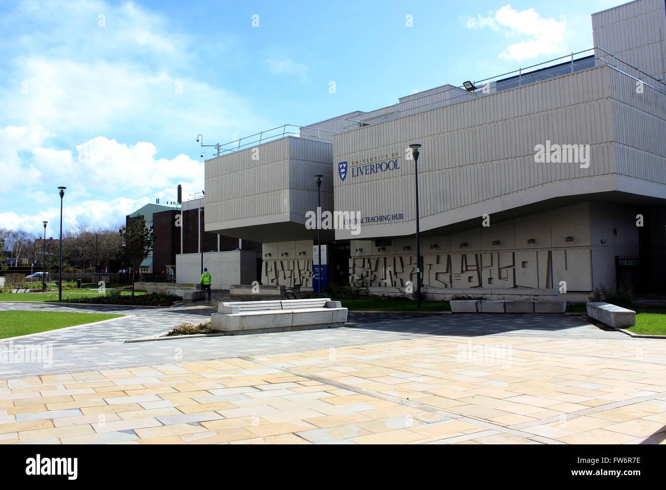University of Liverpool Central Teaching Hub - Stock Image