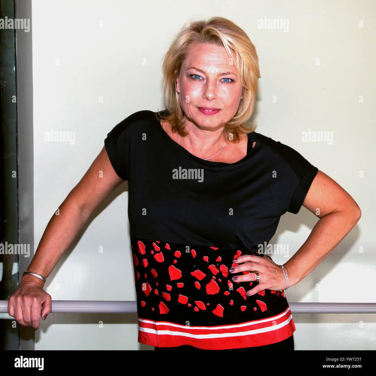 HELENA BERGSTRÖM Swedish actress - Stock Image