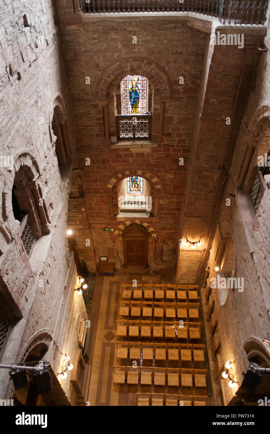 South Transept, St Magnus Cathedral, Kirkwall, Orkney - Stock Image