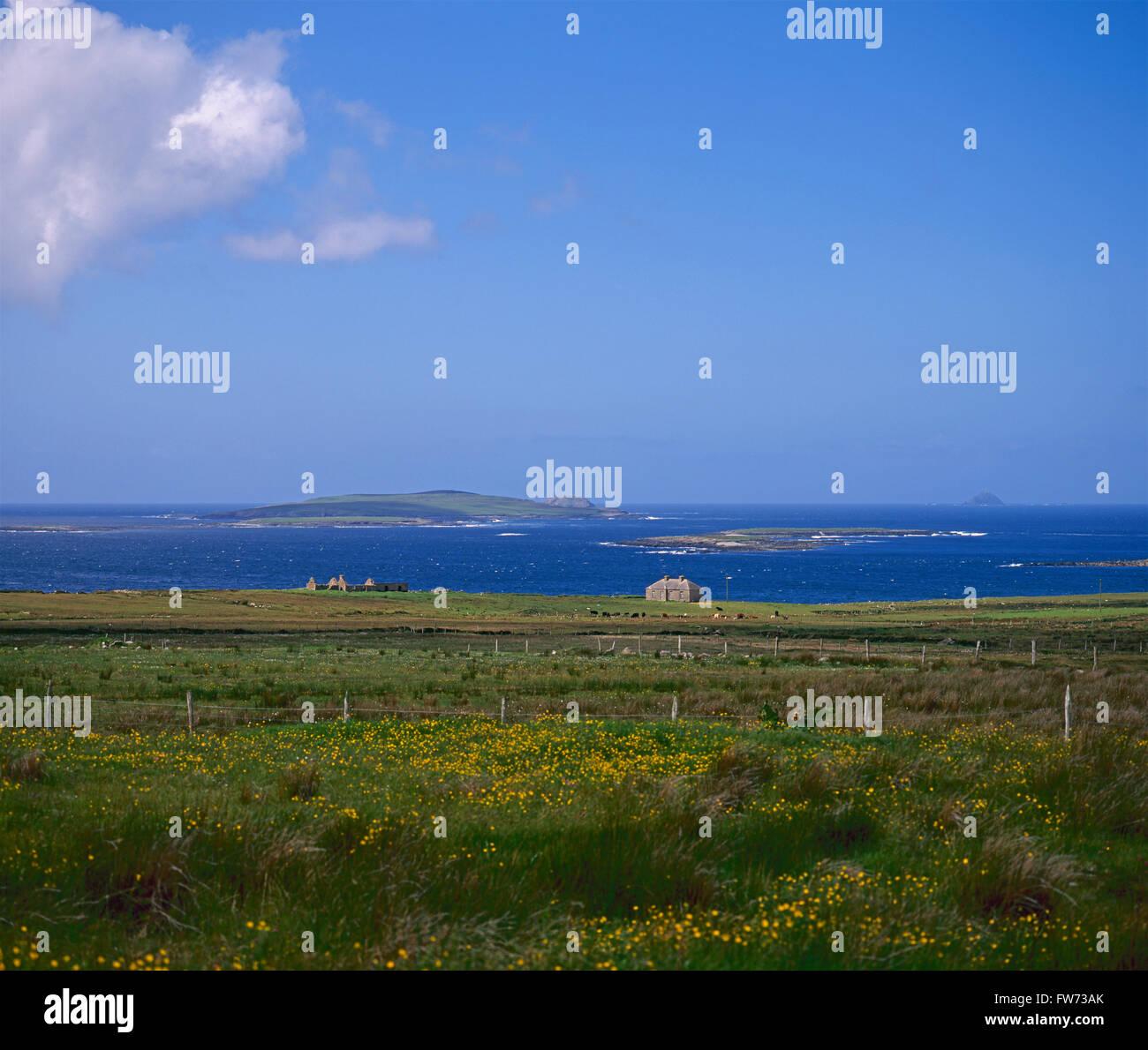 Belmullet Peninsula, County Mayo, Ireland - Stock Image