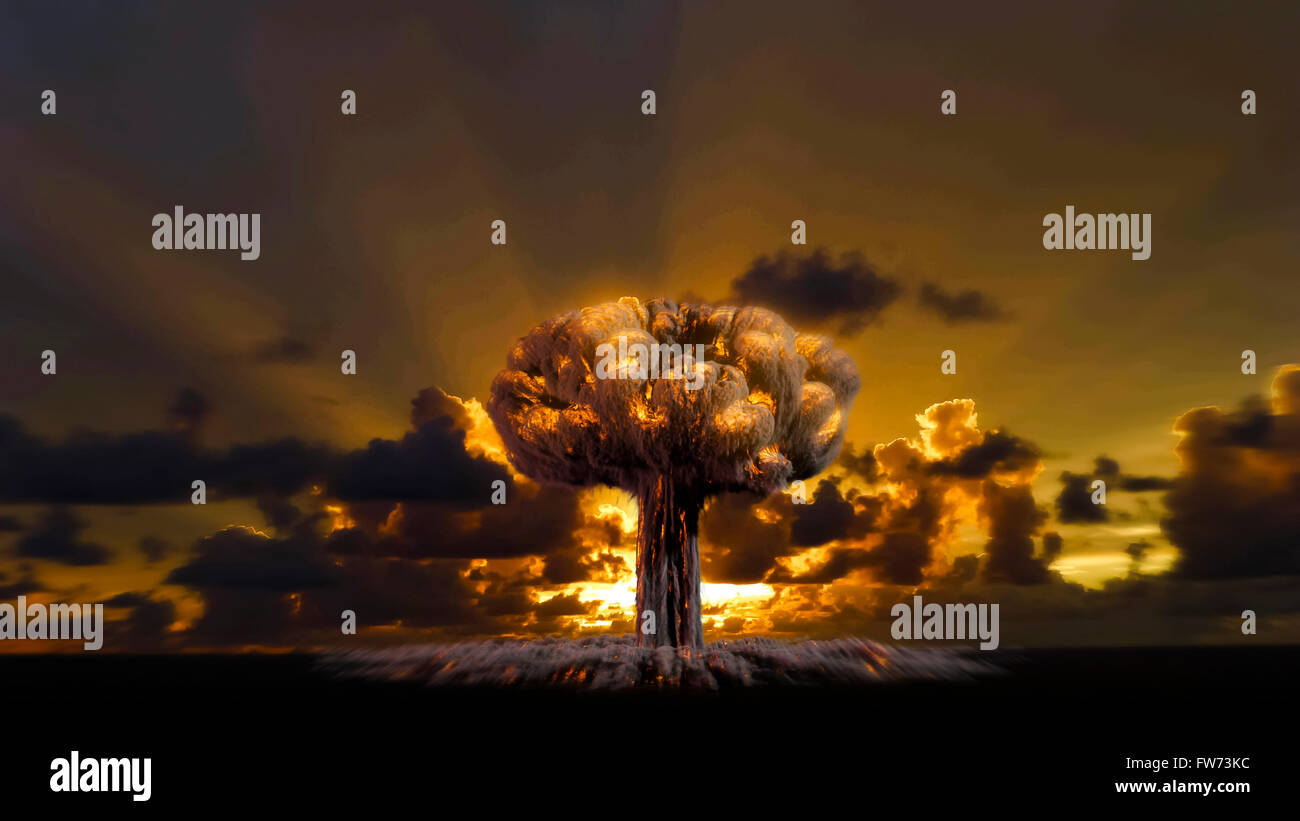 Fire explosions isolated set on white and black  background - Stock Image