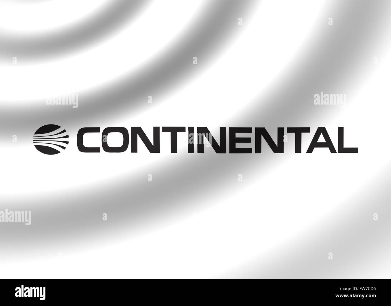 Continental Airlines logo - Stock Image