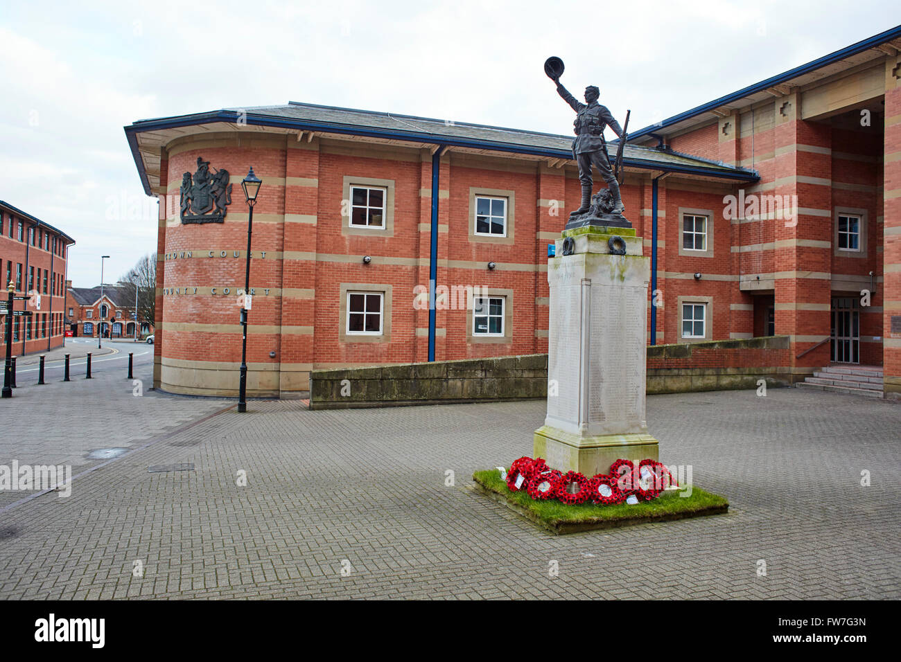 Stafford Crown Court Building Stock Photos & Stafford Crown