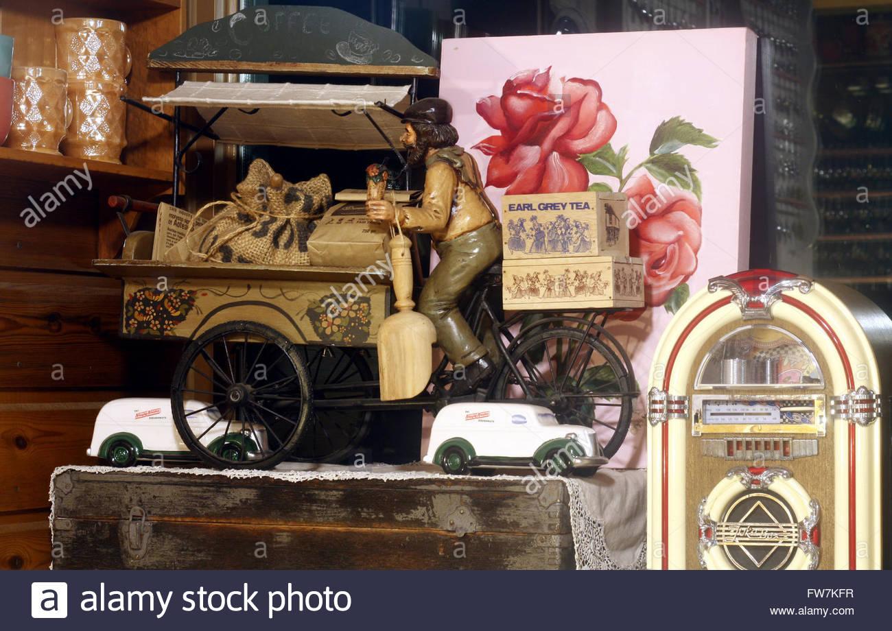antique decorations - Stock Image