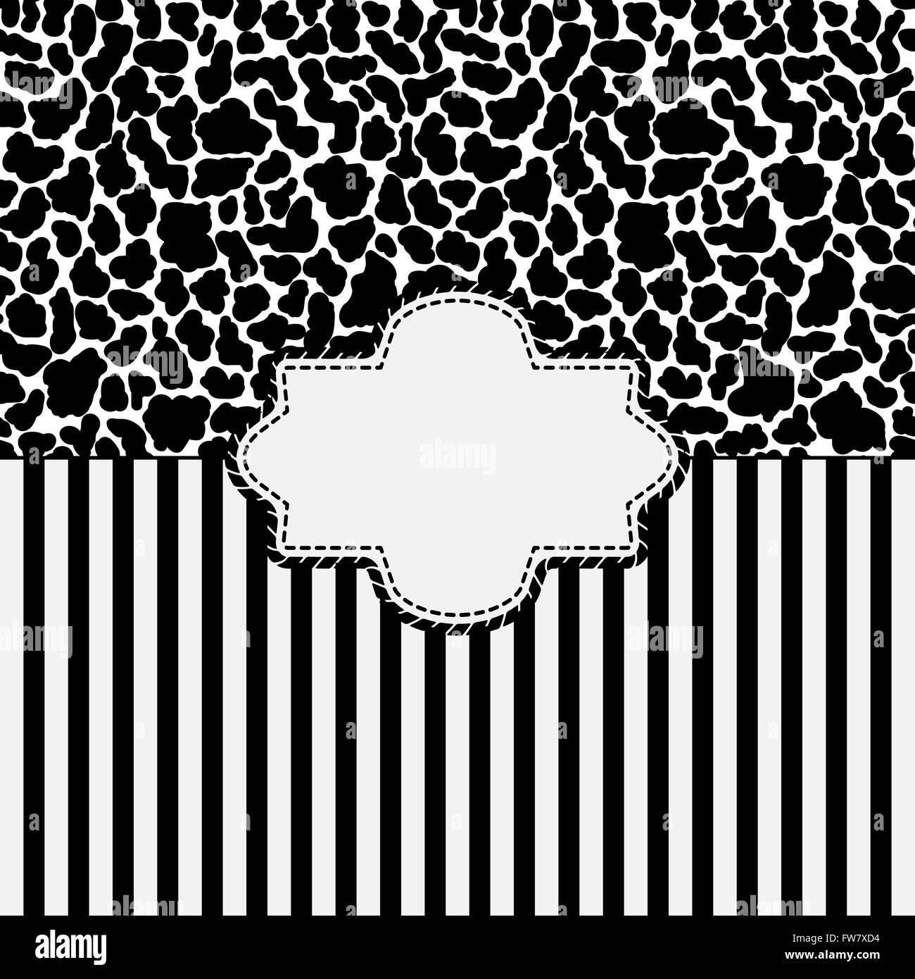 animal skin background - vector illustration. eps 8 - Stock Vector