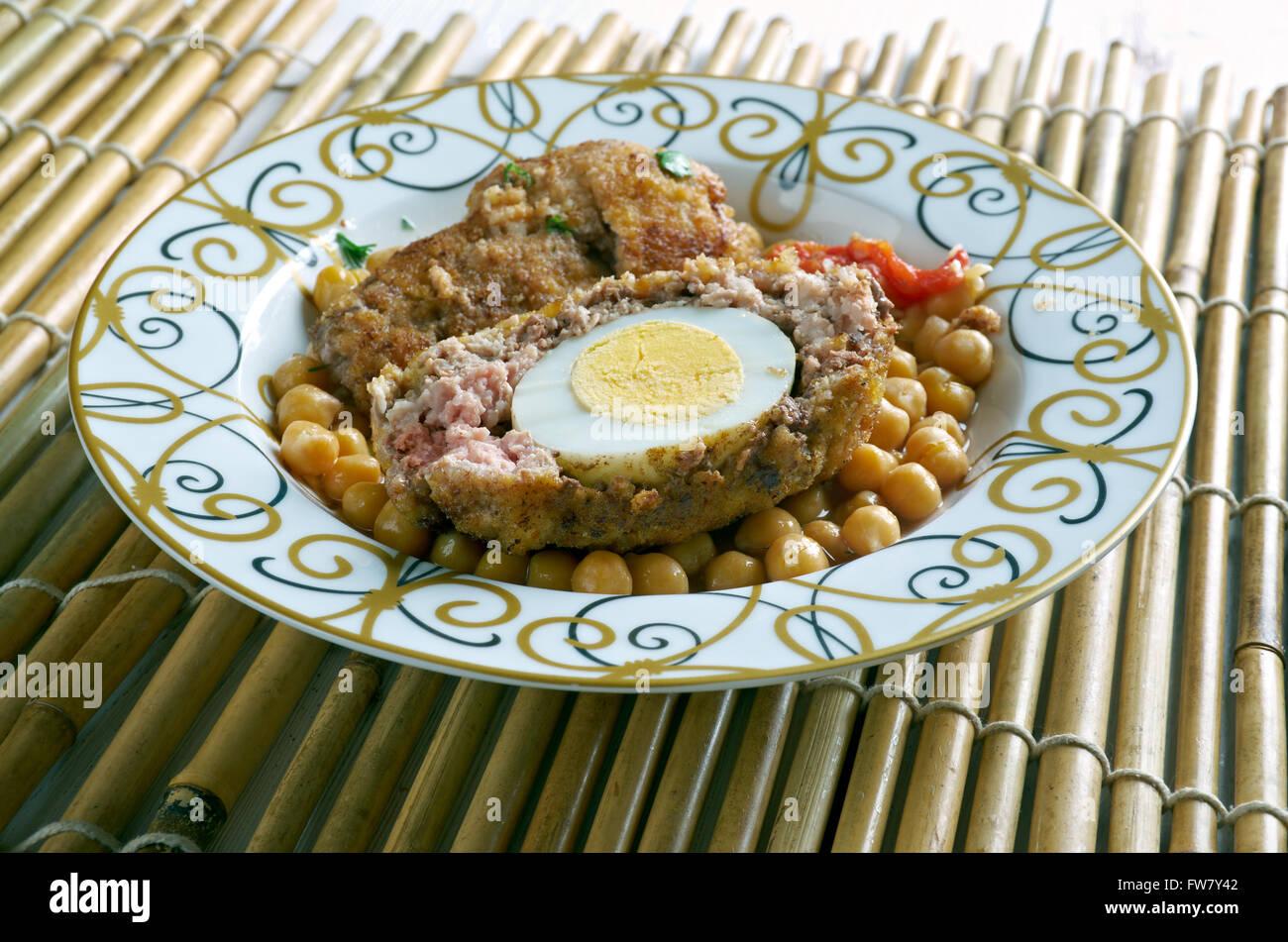 Kufteh Tabrizi - Persian, is an Iranian meatball recipe from
