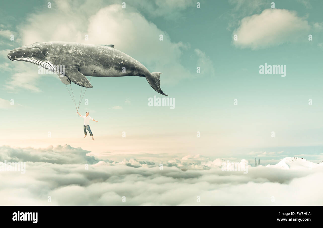 Take me to the dream - Stock Image