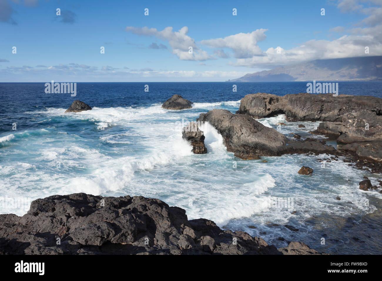 Puntas de Gutierrez, El Hierro, Canary Islands, Spain - Stock Image