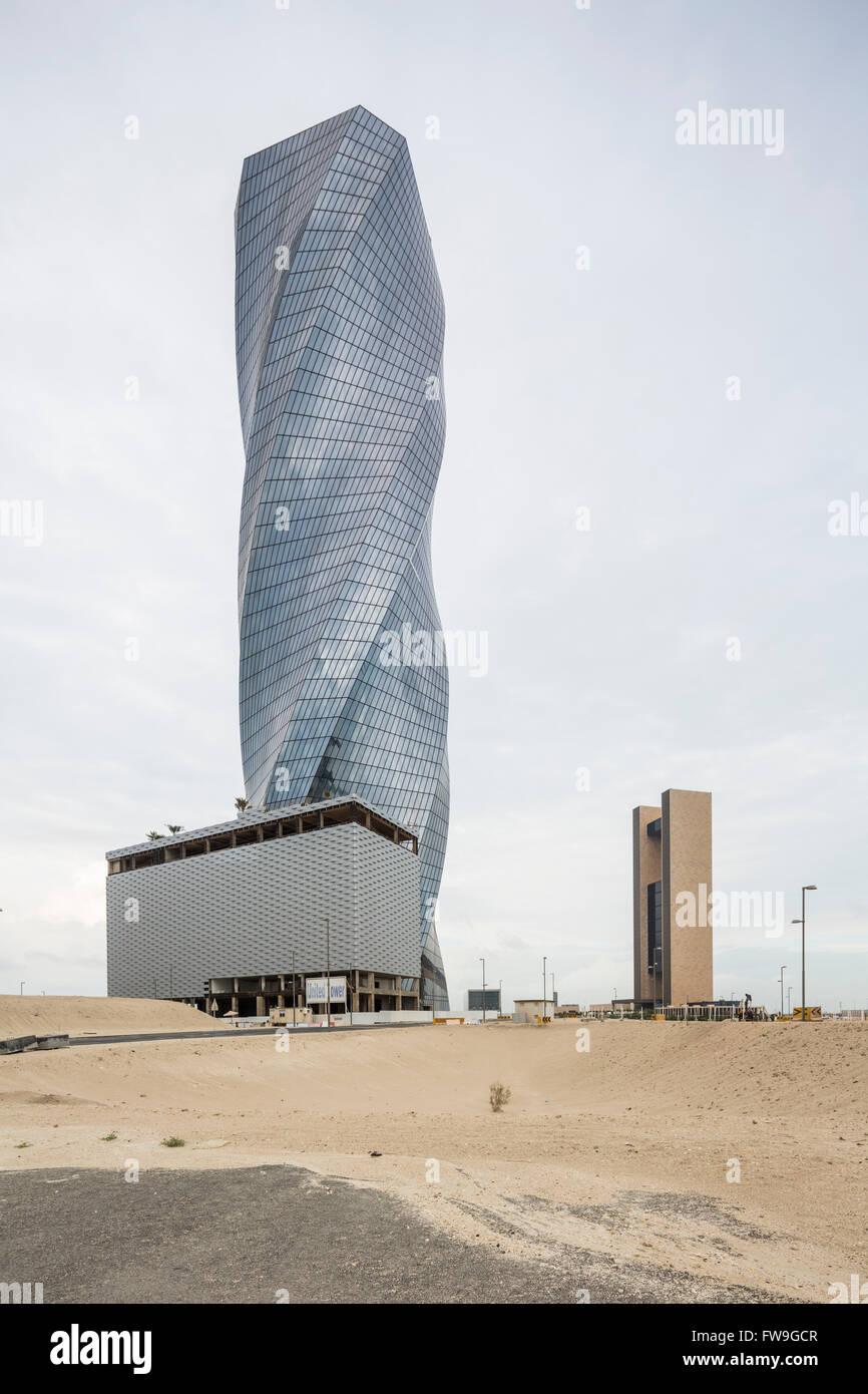 United Tower, Manama, Bahrain - Stock Image
