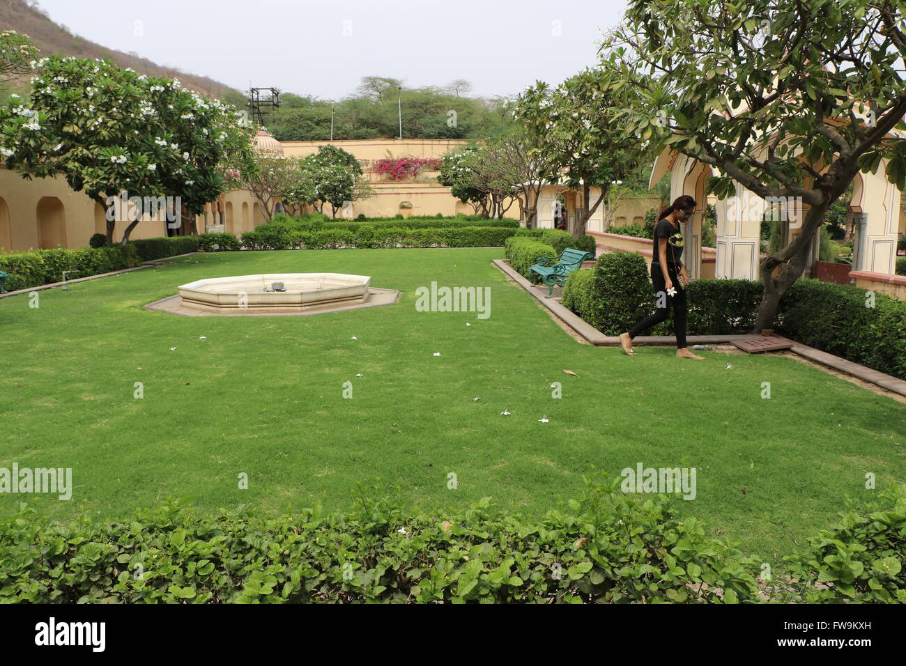 Sisodia Rani Gardan Palace Jaipur Stock Photo 101631449 Alamy