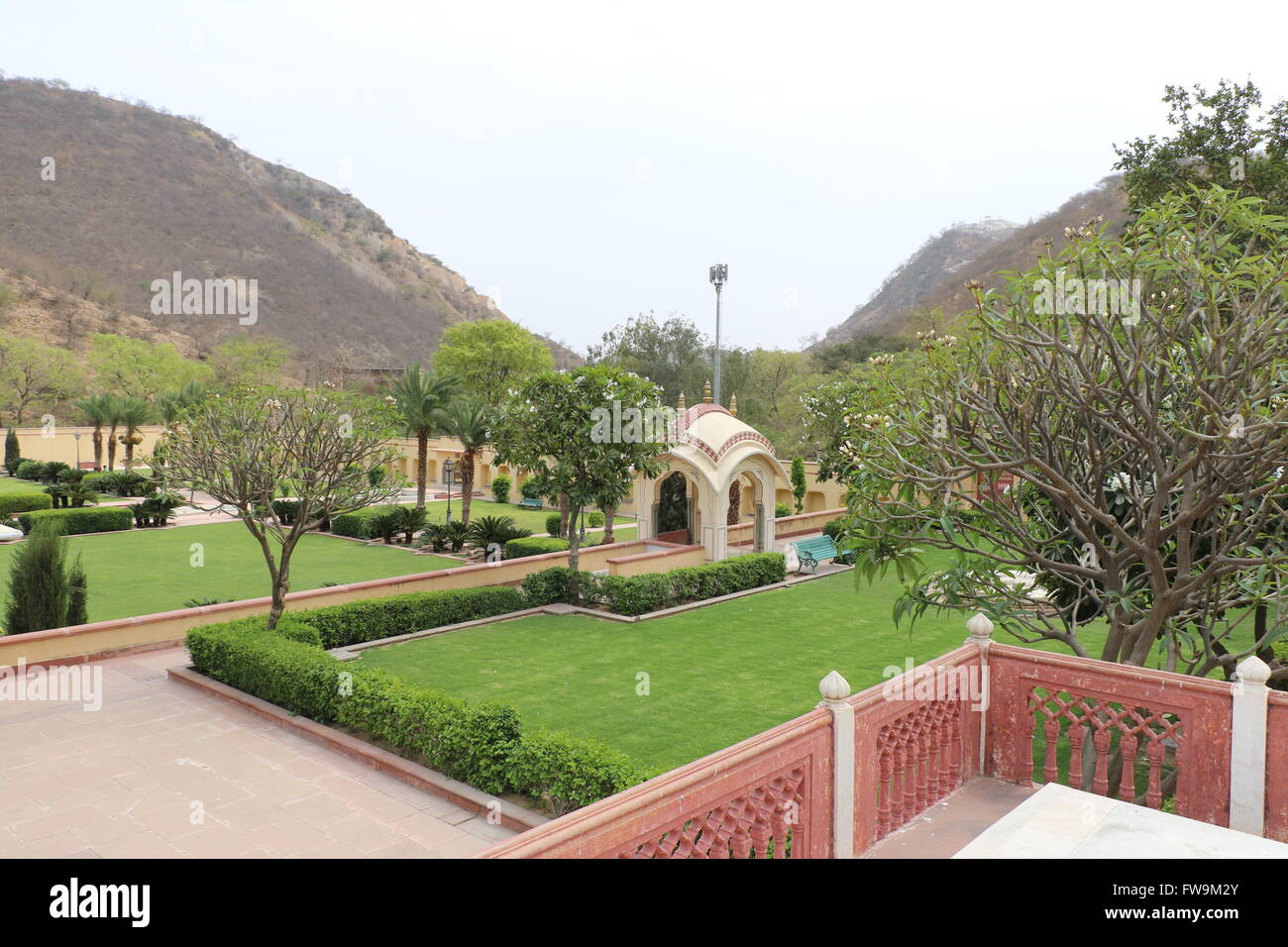 Sisodia Rani Gardan Palace Jaipur Stock Photo 101631571 Alamy