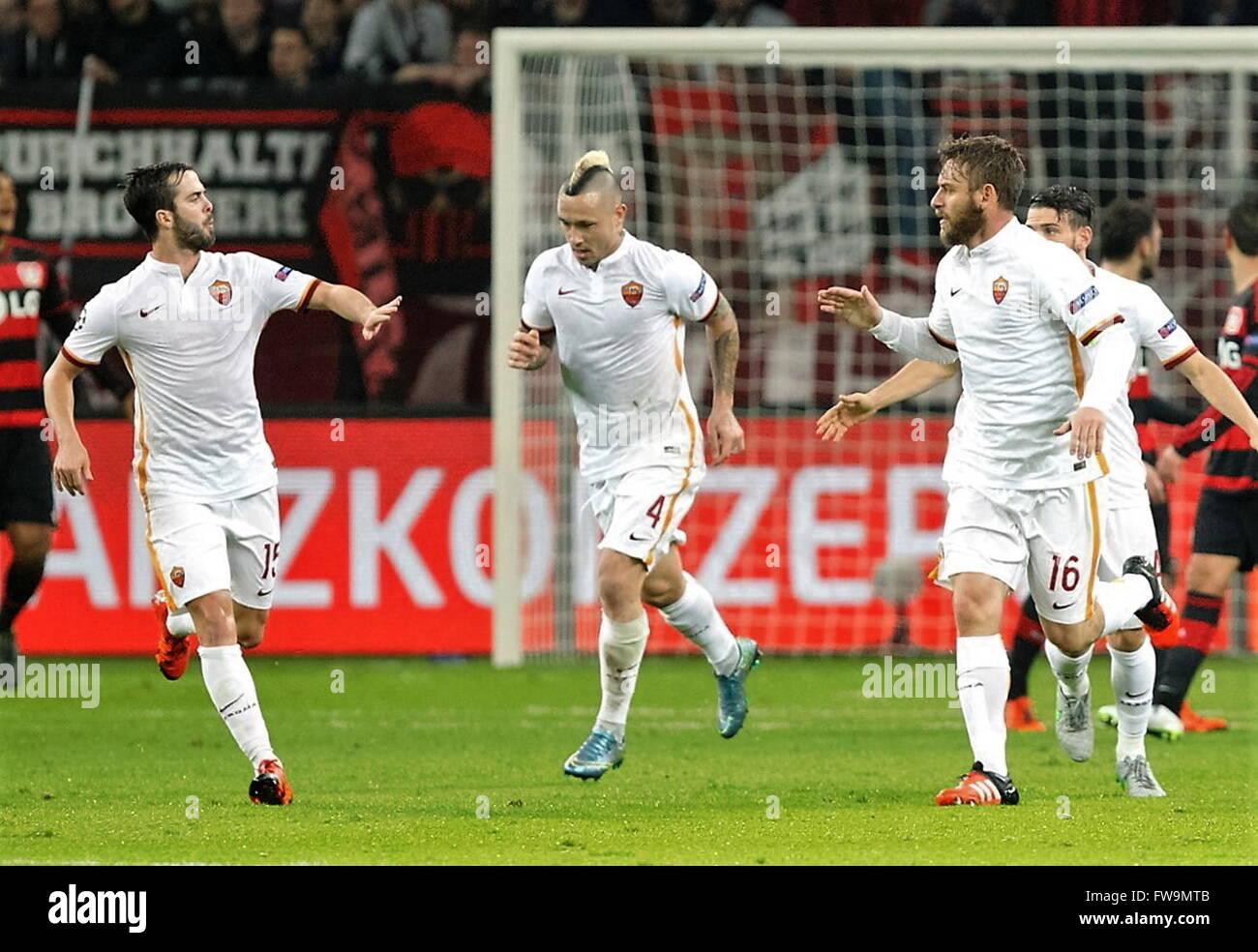 as roma vs bayer leverkusen betting preview goal