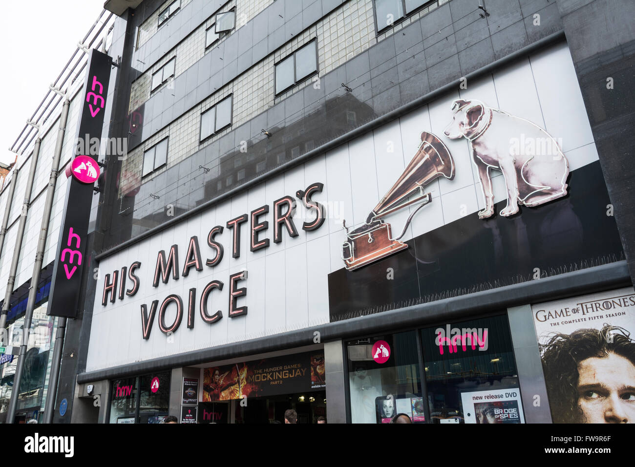 His Masters Voice The Original Hmv Shop 363 Oxford Street Opened