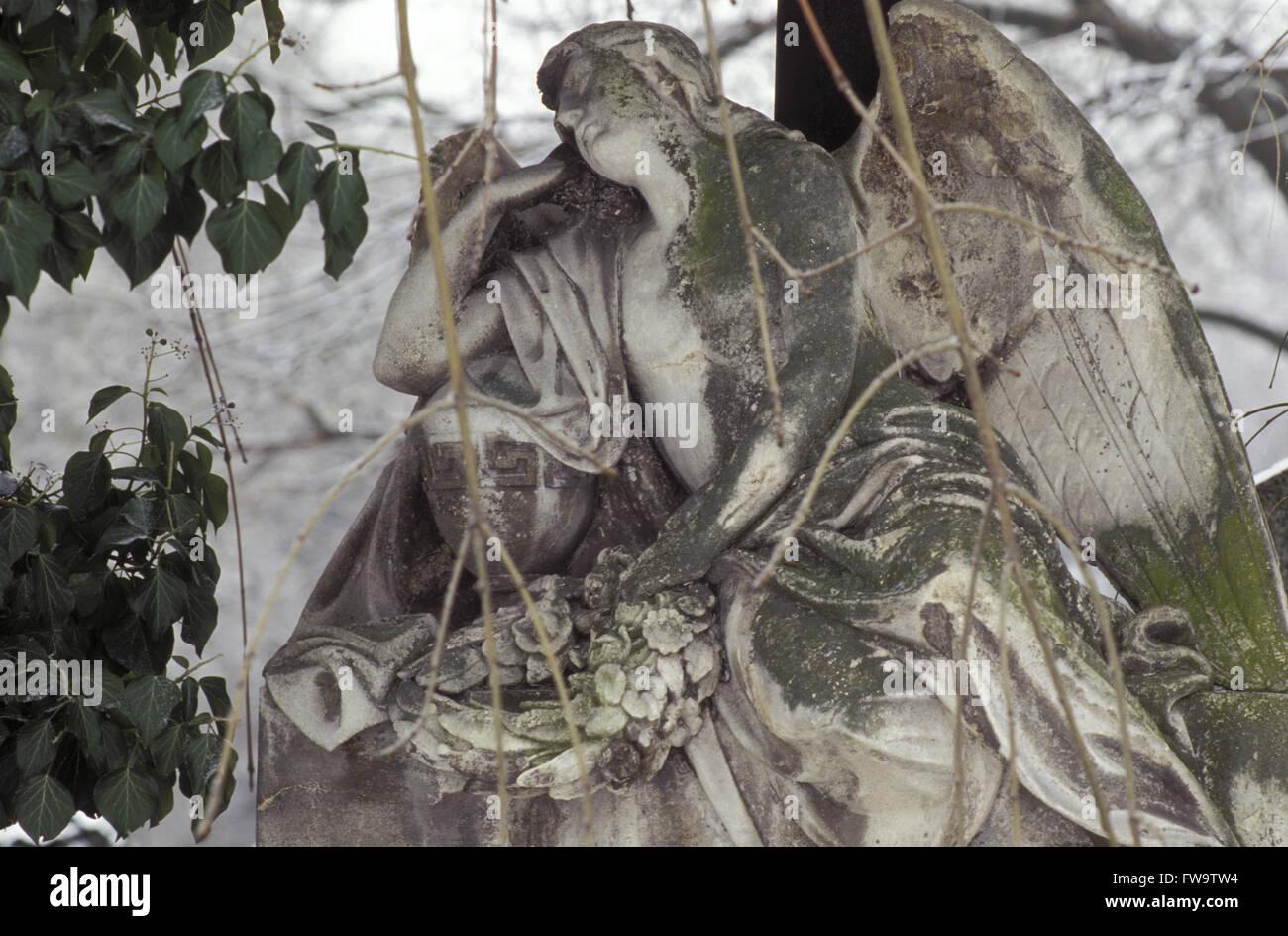 AUT, Austria, Vienna, at the Central Cemetery.   AUT, Oesterreich, Wien,  auf dem Zentralfriedhof. - Stock Image