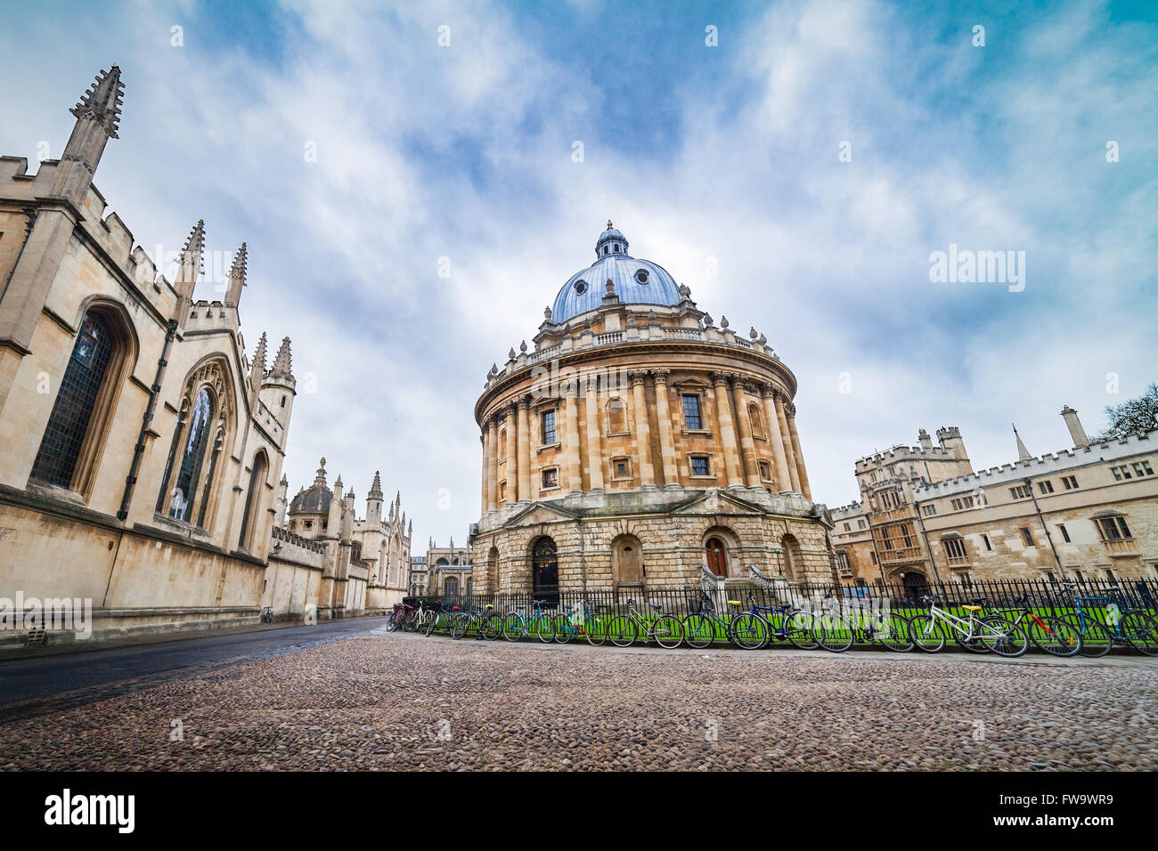 The Radcliffe Camera Library , Building of Oxford University, United Kingdom - Stock Image