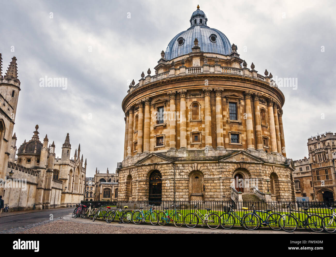 Radcliffe Camera Building, Oxford UK - Stock Image