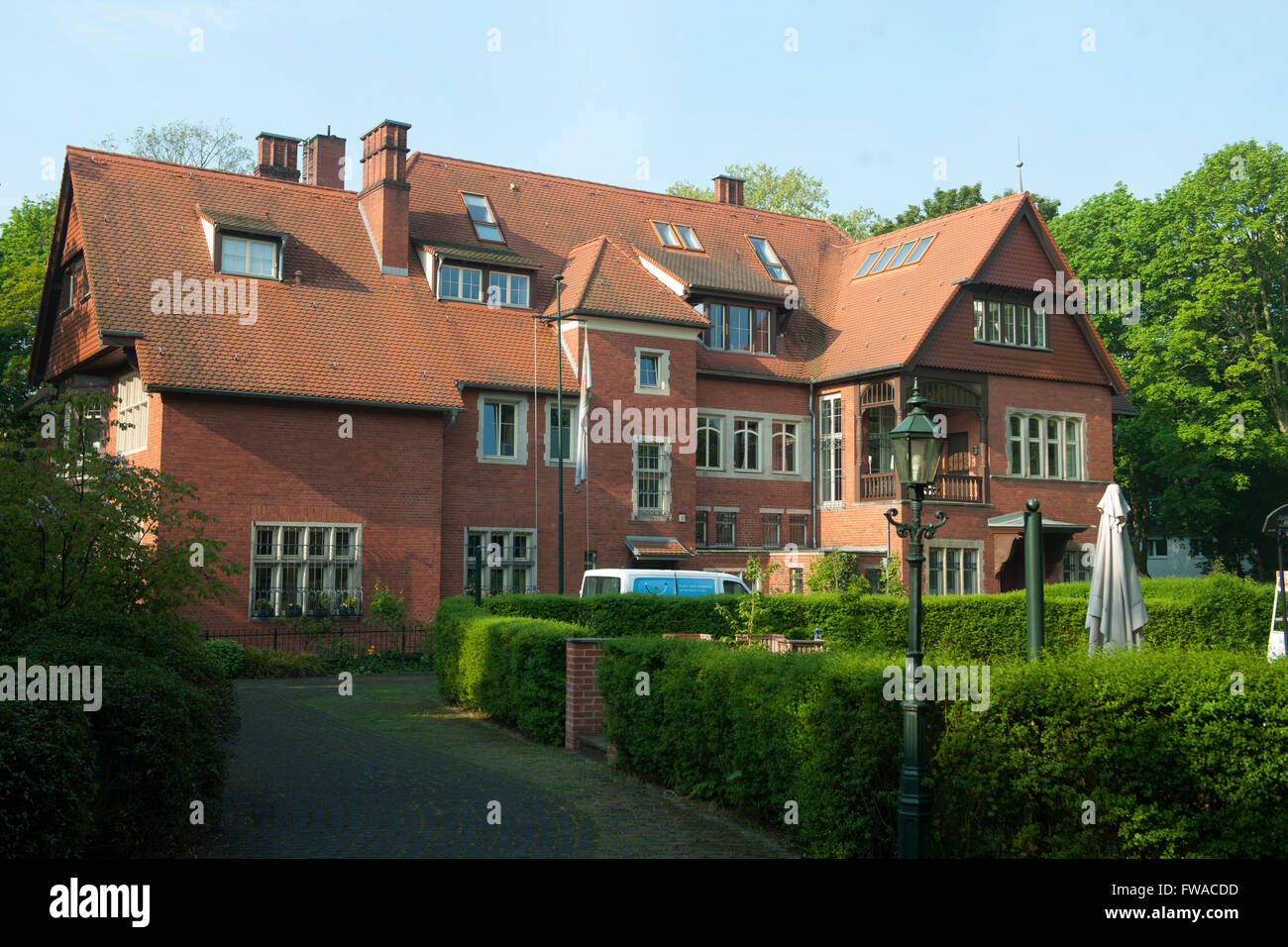 Kö¶ln, Marienburg, Villa Vorster, Architekt Otto March. Die Villa Vorster ist ein 18911894 erbautes - Stock Image