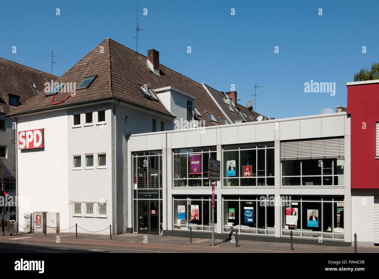 Köln, Altstadt-Nord, Magnusstrasse, Hans-Jürgen Wischnevski-Haus - Stock Image