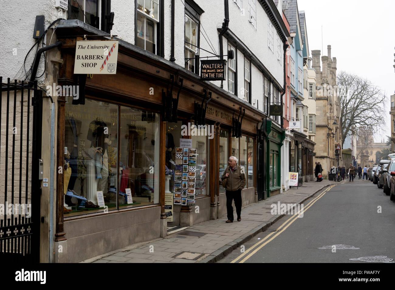Turl Street, Oxford city centre, UK - Stock Image