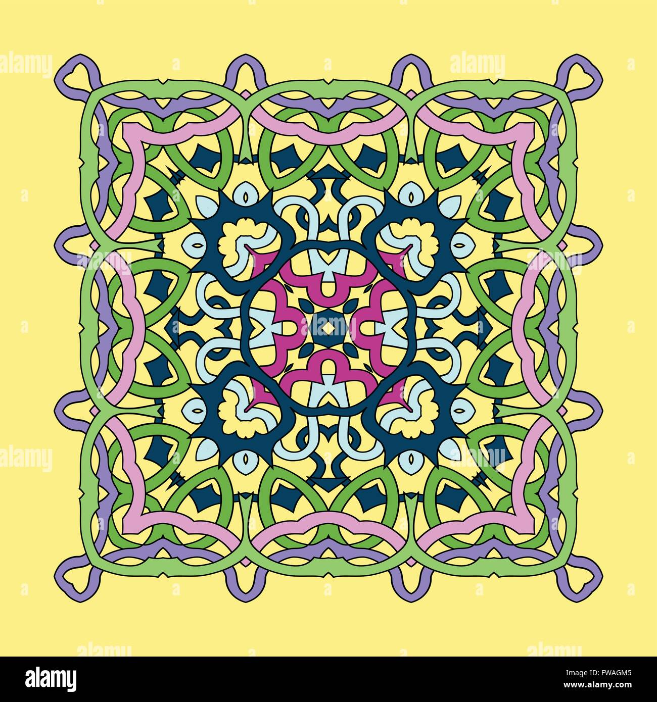 Mandala Square Stock Photos Amp Mandala Square Stock Images border=