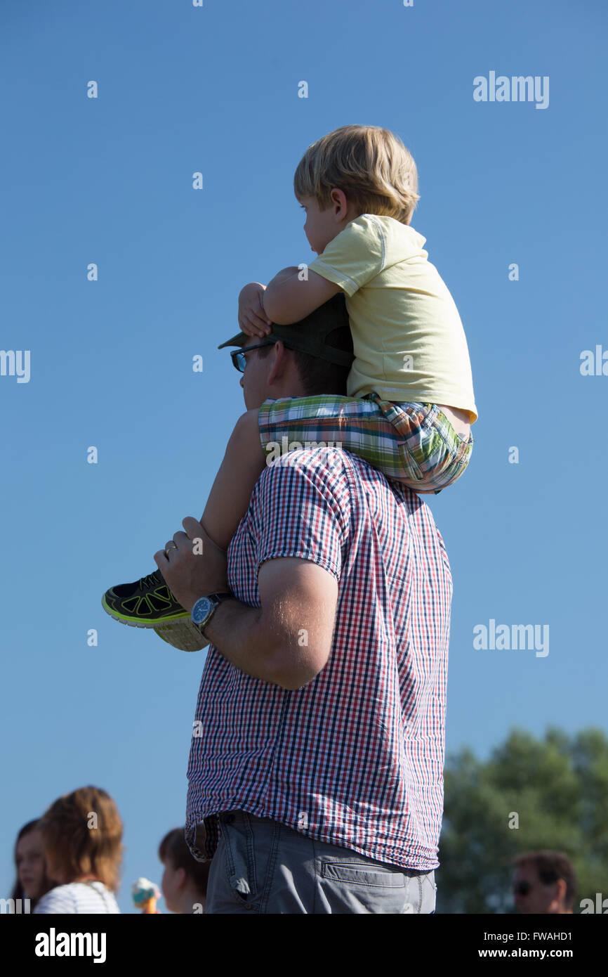 Neck rides - Stock Image