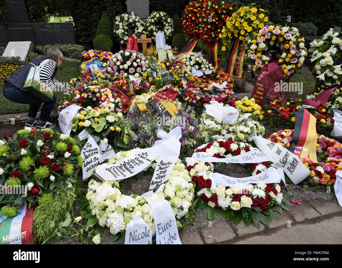 Funeral Flowers Wreaths Stock Photos Funeral Flowers Wreaths Stock