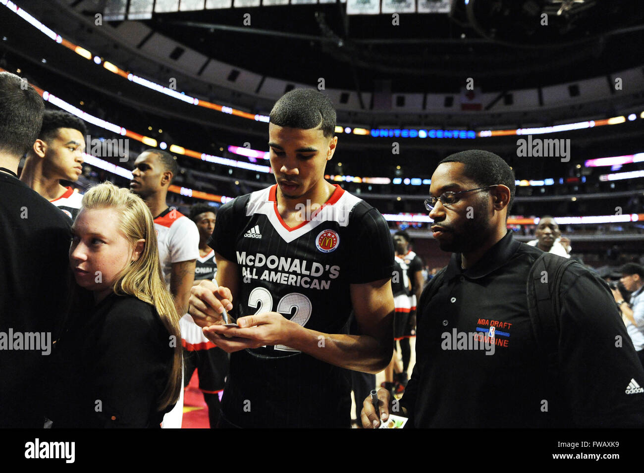 new products 44f40 3bd87 March 30, 2016: McDonald's East All American forward Jayson ...