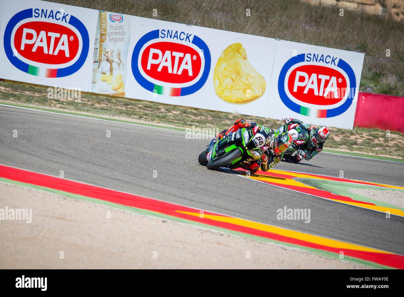 Circuito Motorland : Motorland aragon spain. 02nd apr 2016. world championship motul