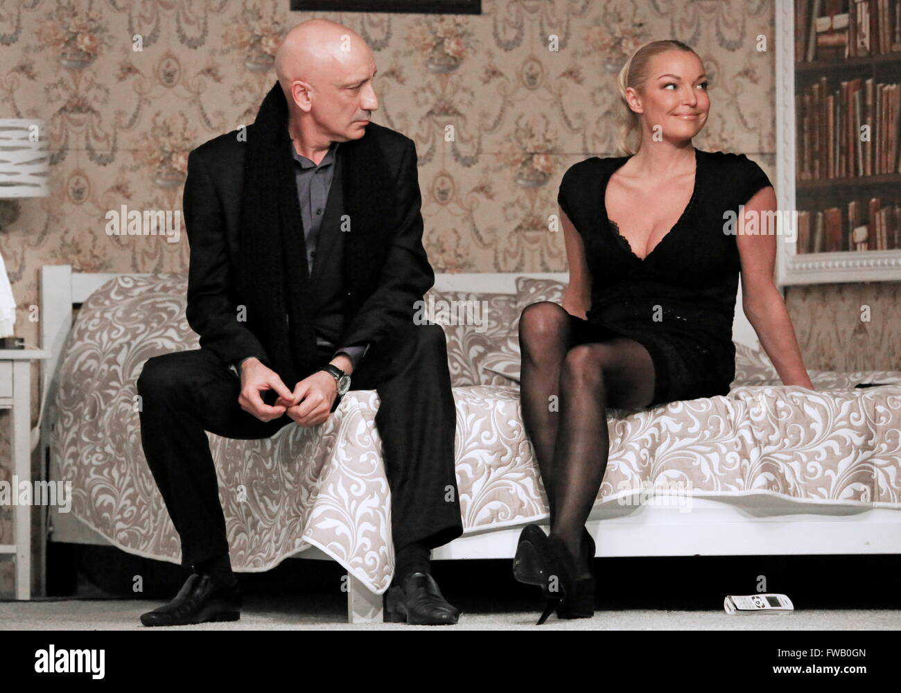 Anastasia Volochkova forced her daughter to sit on the splits 03/03/2018 31