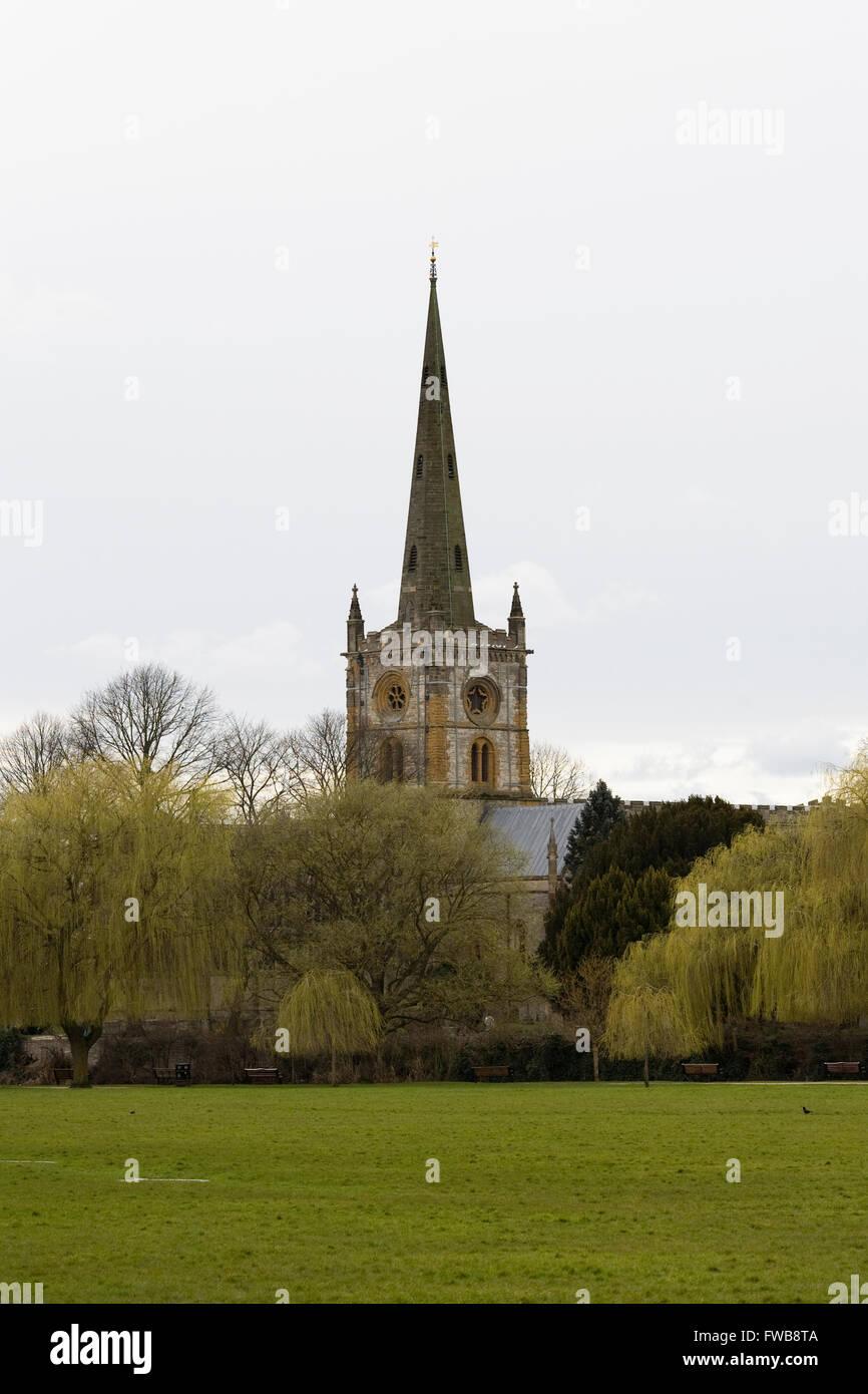 Holy Trinity Church, Stratford upon Avon. - Stock Image