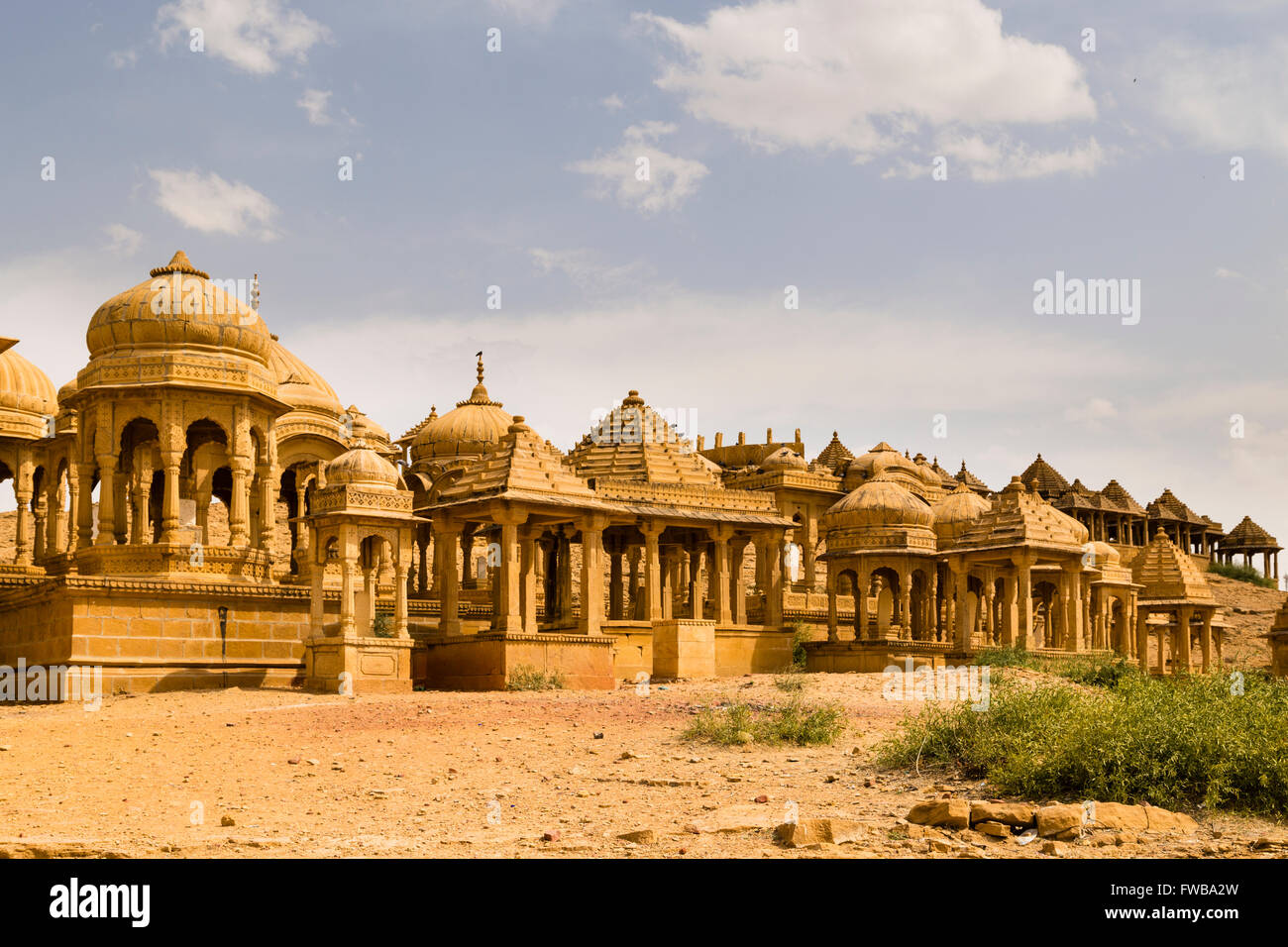 Bada Bagh, Jaisalmer, Rajasthan, India Stock Photo
