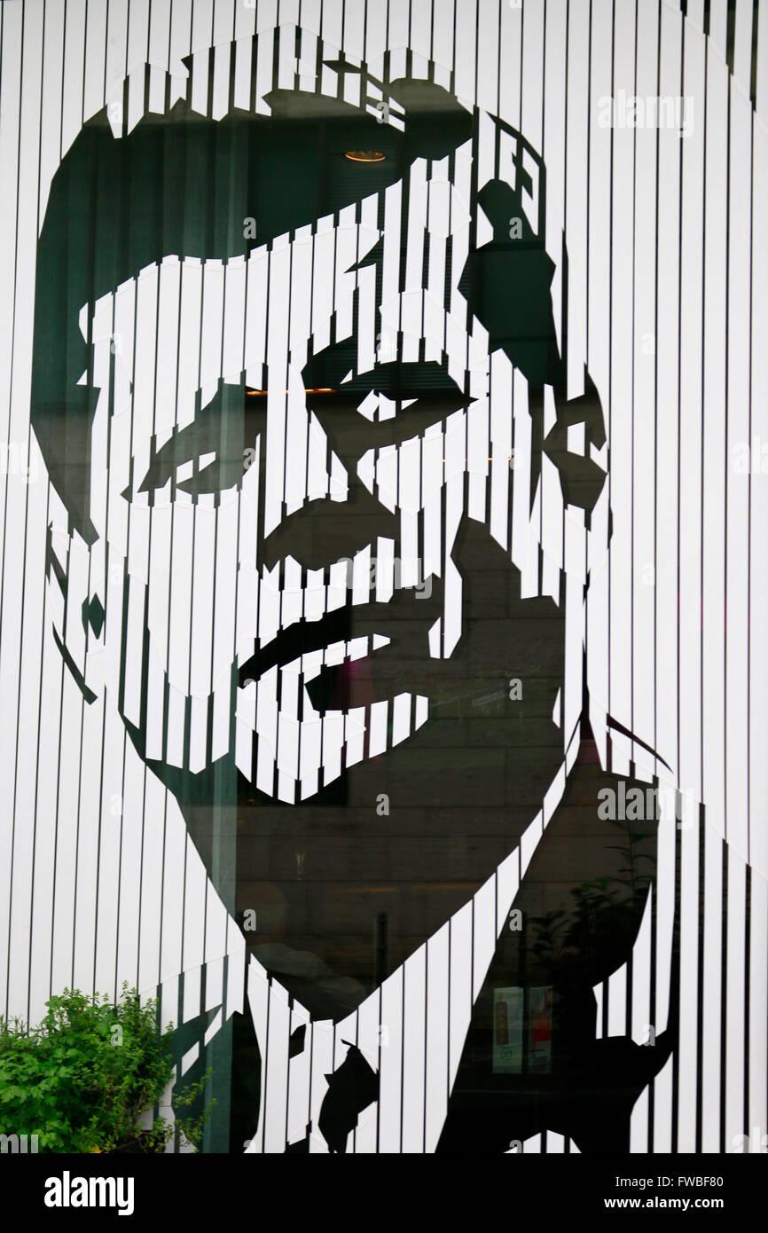 JFK John F. Kennedy, Berlin. - Stock Image