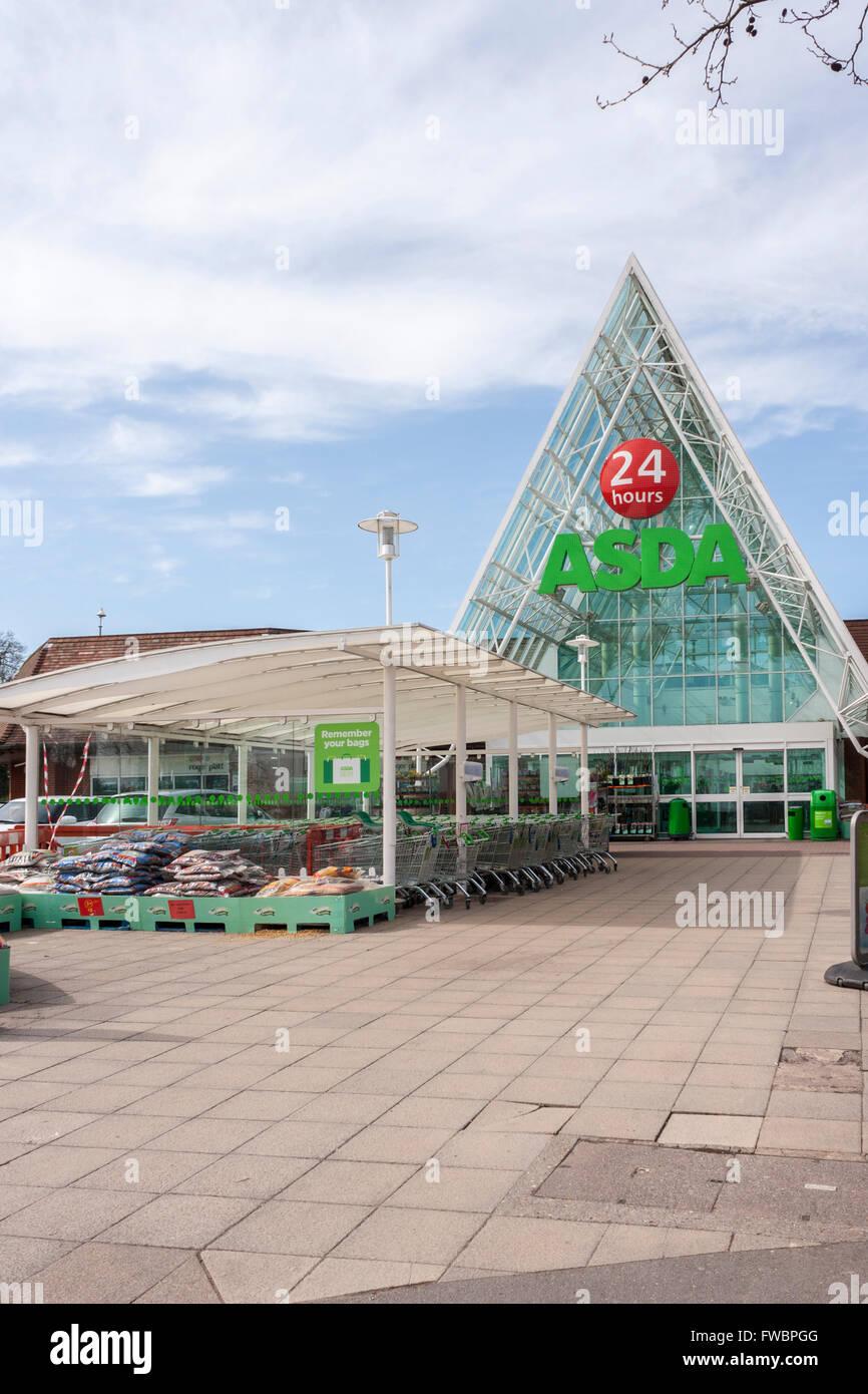 Asda Supermarket Entrance Stock Photos Amp Asda Supermarket