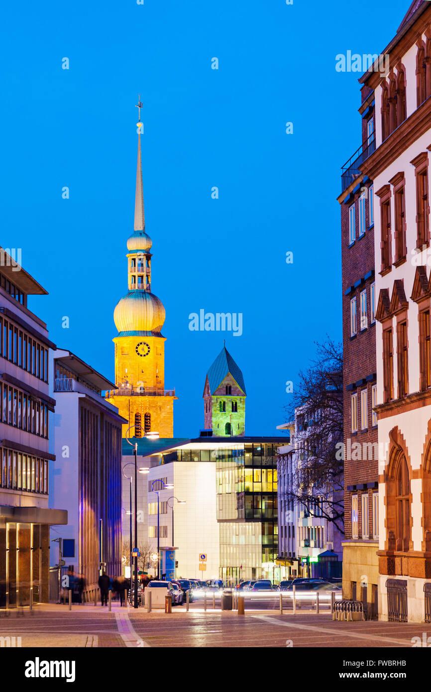 St. Reinoldi Church in Dortmund - Stock Image
