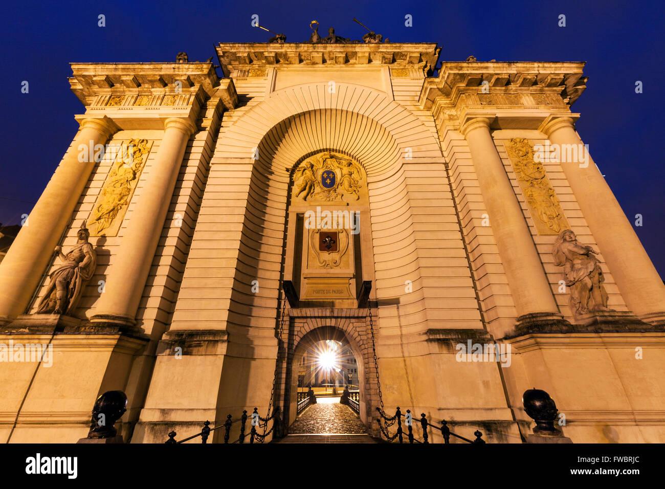 Porta de Paris in Lille - Stock Image