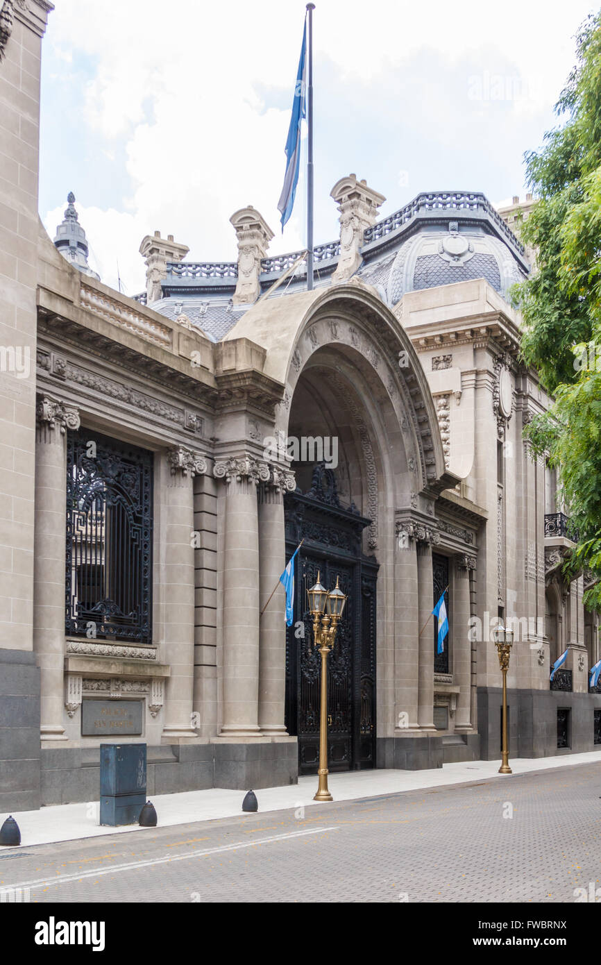 PALACIO SAN MARTIN, BUENOS ARIES, ARGENTINA - CIRCA DECEMBER 2015. Ministry of Foreign Affairs in Palacio San Martin - Stock Image