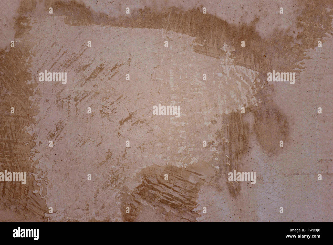 Old scratched dirty concrete wall. Texture. Background - Stock Image