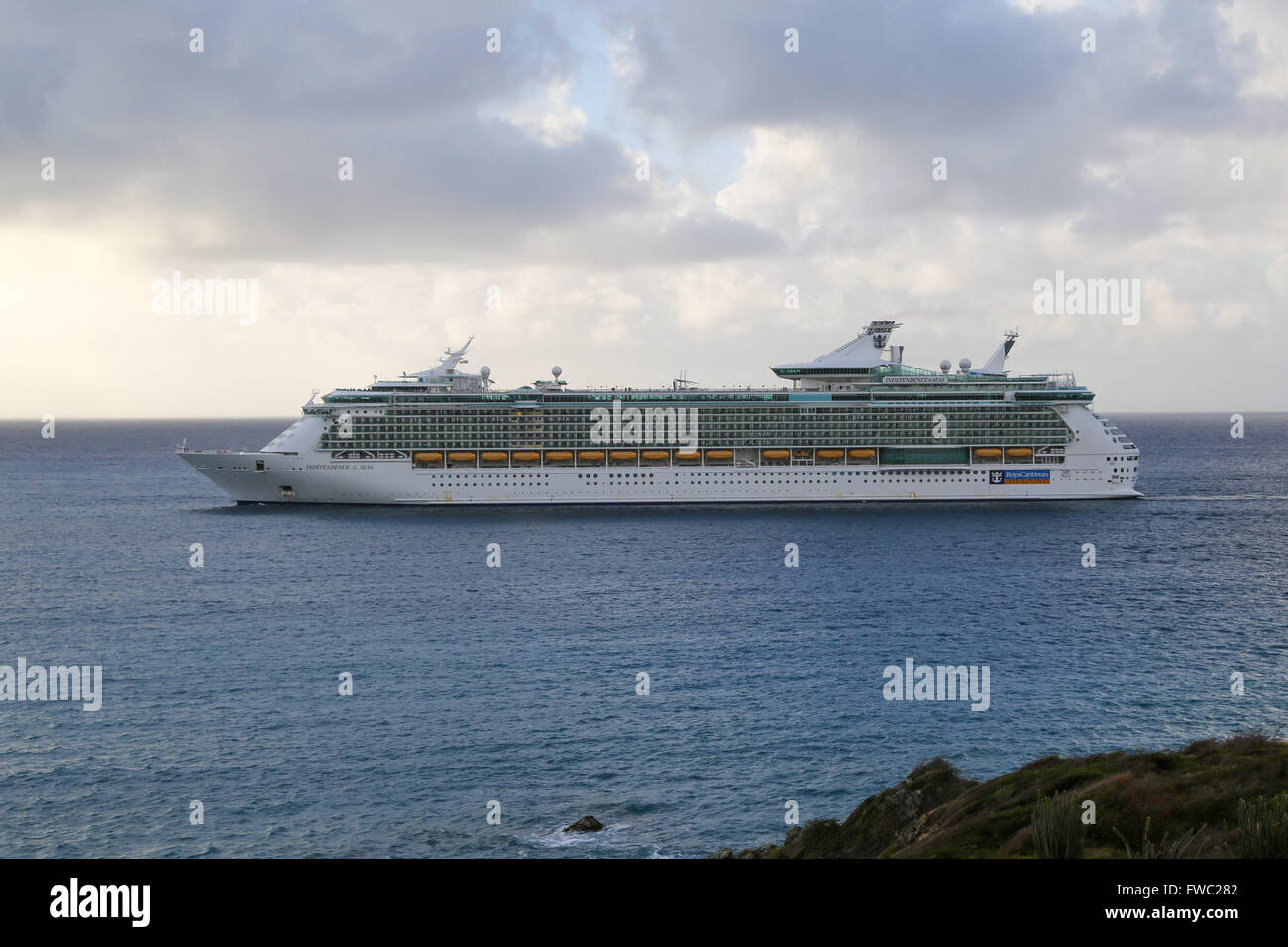 Independence of the Seas - Stock Image