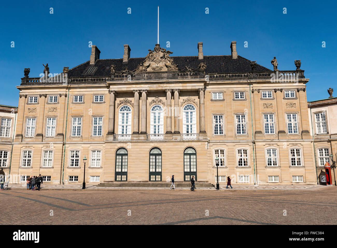 Frederiksstaden - Stock Image