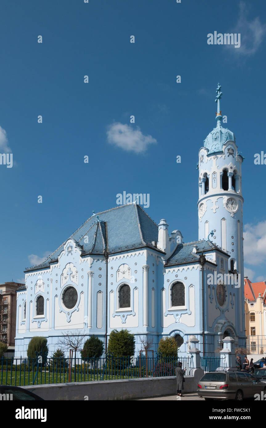 Church of St. Elisabeth, Bratislava, Slovakia - Stock Image