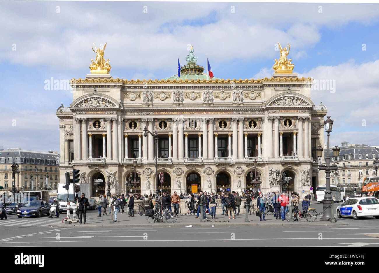 Palais Garnier - Paris Opera House, France. - Stock Image