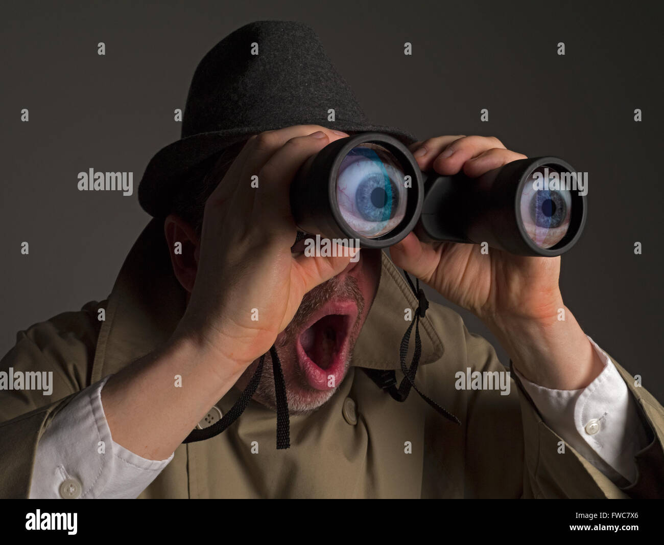 Image result for binoculars spy
